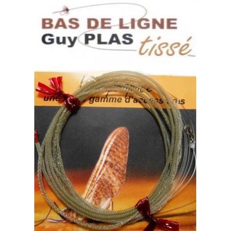 Bas de ligne Tissé - Spécial Carnassiers Pointe Fluorocarbon - Guy Plas