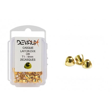 Casque Laiton Or DVX