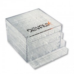 Boîte Plexiglass 100 cases DVX