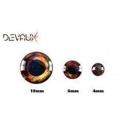 Yeux 3D LIVE Feu DVX