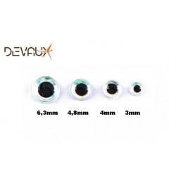 Yeux 3D HOLOGRAPHIQUE Perle DVX