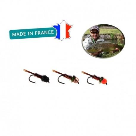 Kit Découverte - Nymphe Pheasant Tail Tungstène V1 Stanislas FREYHEIT