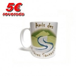 """Mug """"Amis des Rivières Sauvages"""""""