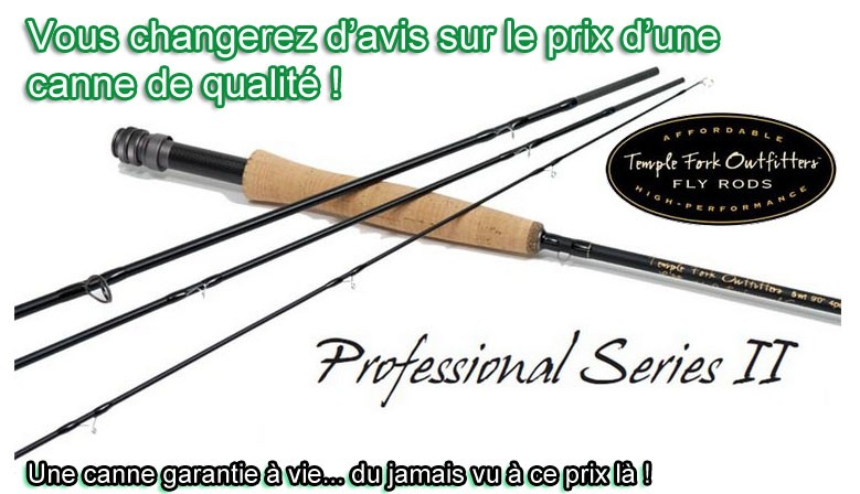 Canne Temple Fork Outfitters Professional Series II
